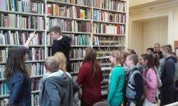 Lekcja biblioteczna - wycieczka